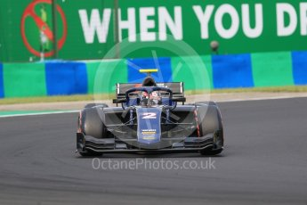 World © Octane Photographic Ltd. FIA Formula 2 (F2) – Hungarian GP - Qualifying. Russian Time - Tadasuke Makino. Hungaroring, Budapest, Hungary. Friday 27th July 2018.
