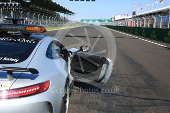 World © Octane Photographic Ltd. GP3 – Hungarian GP – Race 2. Mercedes AMG GTr safety car on the grid Hungaroring, Budapest, Hungary. Sunday 29th July 2018.