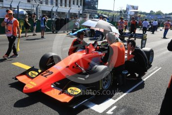 World © Octane Photographic Ltd. GP3 – Hungarian GP – Race 2. MP Motorsport - Dorian Boccolacci. Hungaroring, Budapest, Hungary. Sunday 29th July 2018.