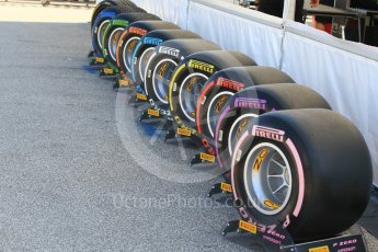 World © Octane Photographic Ltd. Formula 1 – Hungarian GP - Pirelli tyre range. Hungaroring, Budapest, Hungary. Thursday 26th July 2018.
