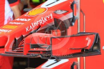 World © Octane Photographic Ltd. Formula 1 – Hungarian GP - Pitlane. Scuderia Ferrari SF71-H. Hungaroring, Budapest, Hungary. Thursday 26th July 2018.