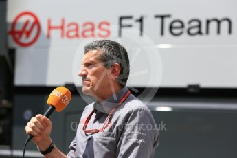 World © Octane Photographic Ltd. Formula 1 - Hungarian GP - Paddock. Guenther Steiner - Team Principal of Haas F1 Team. Hungaroring, Budapest, Hungary. Thursday 26th July 2018.