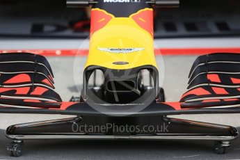 World © Octane Photographic Ltd. Formula 1 – Hungarian GP - Pit Lane. Aston Martin Red Bull Racing TAG Heuer RB14. Hungaroring, Budapest, Hungary. Thursday 26th July 2018.