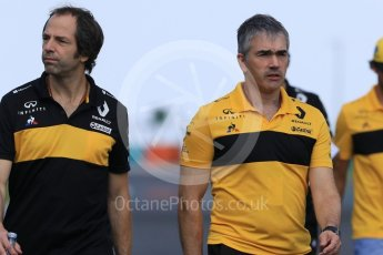 World © Octane Photographic Ltd. Formula 1 - Hungarian GP - Track Walk. Nick Chester – Chassis Technical Director at Renault Sport Formula 1 Team. Hungaroring, Budapest, Hungary. Thursday 26th July 2018.