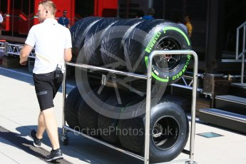 World © Octane Photographic Ltd. Formula 1 – Hungarian Post-Race Test - Day 1. McLaren MCL33 – Intermediate tyres. Hungaroring, Budapest, Hungary. Tuesday 31st July 2018.