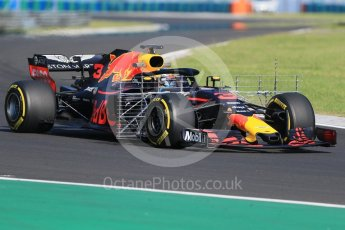 World © Octane Photographic Ltd. Formula 1 – Hungarian Post-Race Test - Day 1. Aston Martin Red Bull Racing TAG Heuer RB14 – Daniel Ricciardo. Hungaroring, Budapest, Hungary. Tuesday 31st July 2018.