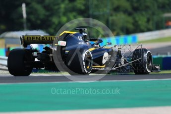World © Octane Photographic Ltd. Formula 1 – Hungarian Post-Race Test - Day 1. Renault Sport F1 Team RS18 – Nico Hulkenberg. Hungaroring, Budapest, Hungary. Tuesday 31st July 2018.