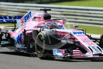 World © Octane Photographic Ltd. Formula 1 – Hungarian Post-Race Test - Day 1. Sahara Force India VJM11 – Nicholas Latifi. Hungaroring, Budapest, Hungary. Tuesday 31st July 2018.