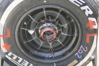 World © Octane Photographic Ltd. Formula 1 – Hungarian Post-Race Test - Day 1. McLaren MCL33 wheel. Hungaroring, Budapest, Hungary. Tuesday 31st July 2018.