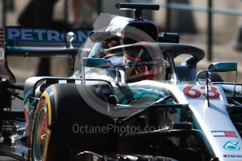 World © Octane Photographic Ltd. Formula 1 – Hungarian Post-Race Test - Day 1. Mercedes AMG Petronas Motorsport AMG F1 W09 EQ Power+ - George Russell. Hungaroring, Budapest, Hungary. Tuesday 31st July 2018.