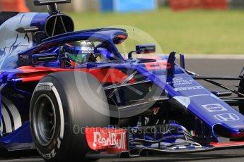 World © Octane Photographic Ltd. Formula 1 – Hungarian Post-Race Pirelli Test - Day 1. Scuderia Toro Rosso STR13 – Sean Gelael. Hungaroring, Budapest, Hungary. Tuesday 31st July 2018.