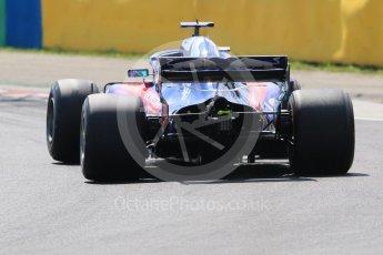 World © Octane Photographic Ltd. Formula 1 – Hungarian Post-Race Test - Day 2. Scuderia Toro Rosso STR13 – Brendon Hartley. Hungaroring, Budapest, Hungary. Wednesday 1st August 2018.