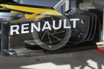 World © Octane Photographic Ltd. Formula 1 – Hungarian Post-Race Test - Day 2. Renault Sport F1 Team RS18 Front wing #2. Hungaroring, Budapest, Hungary. Wednesday 1st August 2018