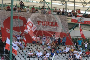 World © Octane Photographic Ltd. Formula 1 – Hungarian Post-Race Test - Day 2. Robert Kubica fans. Hungaroring, Budapest, Hungary. Wednesday 1st August 2018.