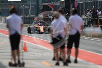 World © Octane Photographic Ltd. Formula 1 – Hungarian Post-Race Test - Day 2. McLaren MCL33 – Lando Norris. Hungaroring, Budapest, Hungary. Wednesday 1st August 2018.