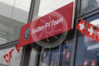 World © Octane Photographic Ltd. Formula 1 – Hungarian Post-Race Test - Day 2. Alfa Romeo Sauber F1 Team on Swiss National Day. Hungaroring, Budapest, Hungary. Wednesday 1st August 2018.