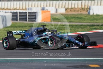 World © Octane Photographic Ltd. Formula 1 – In season test 1, day 2. Mercedes AMG Petronas Motorsport AMG F1 W09 EQ Power+ - Valtteri Bottas. Circuit de Barcelona-Catalunya, Spain. Wednesday 16th May 2018.