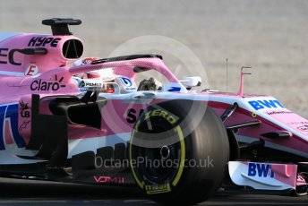 World © Octane Photographic Ltd. Formula 1 – In season test 1, day 2. Sahara Force India VJM11 - Nicholas Latifi. Circuit de Barcelona-Catalunya, Spain. Wednesday 16th May 2018.