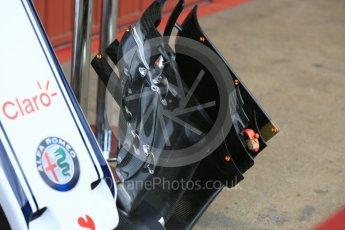 World © Octane Photographic Ltd. Formula 1 – In season test 1, day 2. Alfa Romeo Sauber F1 Team C37 – Charles Leclerc. Circuit de Barcelona-Catalunya, Spain. Wednesday 16th May 2018.