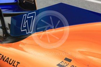 World © Octane Photographic Ltd. Formula 1 – In season test 1, day 2. McLaren MCL33 – Lando Norris. Circuit de Barcelona-Catalunya, Spain. Wednesday 16th May 2018.