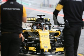 World © Octane Photographic Ltd. Formula 1 – In season test 1, day 2. Renault Sport F1 Team RS18 – Jack Aitken. Circuit de Barcelona-Catalunya, Spain. Wednesday 16th May 2018.