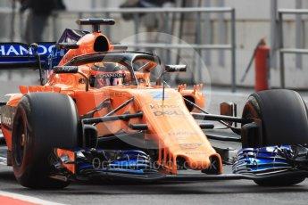 World © Octane Photographic Ltd. Formula 1 – In season test 1, day 2. McLaren MCL33 – Stoffel Vandoorne. Circuit de Barcelona-Catalunya, Spain. Wednesday 16th May 2018.