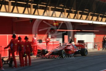 World © Octane Photographic Ltd. Formula 1 – In season test 1, day 2. Scuderia Ferrari SF71-H – Antonio Giovinazzi. Circuit de Barcelona-Catalunya, Spain. Wednesday 16th May 2018.