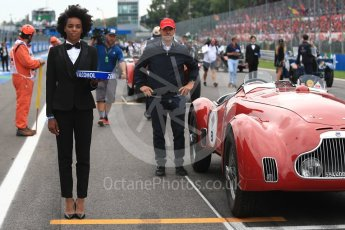 World © Octane Photographic Ltd. Formula 1 – Italian GP - Drivers Parade. Atmosphere. Autodromo Nazionale di Monza, Monza, Italy. Sunday 2nd September 2018.