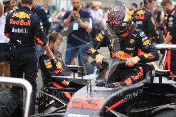 World © Octane Photographic Ltd. Formula 1 – Italian GP - Grid. Aston Martin Red Bull Racing TAG Heuer RB14 – Max Verstappen. Autodromo Nazionale di Monza, Monza, Italy. Sunday 2nd September 2018.