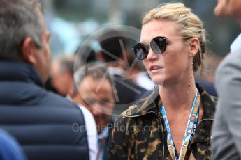 World © Octane Photographic Ltd. Formula 1 – Italian GP - Grid. Julia Stiles. Autodromo Nazionale di Monza, Monza, Italy. Sunday 2nd September 2018.