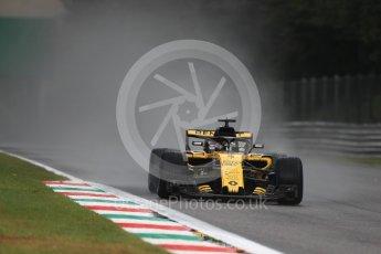 World © Octane Photographic Ltd. Formula 1 – Italian GP - Practice 1. Renault Sport F1 Team RS18 – Nico Hulkenberg. Autodromo Nazionale di Monza, Monza, Italy. Friday 31st August 2018.