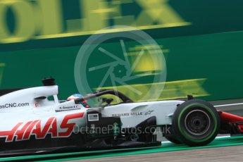 World © Octane Photographic Ltd. Formula 1 – Italian GP - Practice 1. Haas F1 Team VF-18 – Romain Grosjean. Autodromo Nazionale di Monza, Monza, Italy. Friday 31st August 2018.