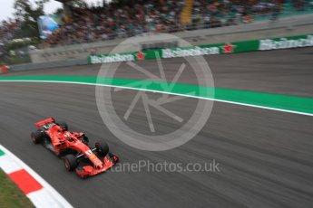 World © Octane Photographic Ltd. Formula 1 – Italian GP - Practice 2. Scuderia Ferrari SF71-H – Sebastian Vettel. Autodromo Nazionale di Monza, Monza, Italy. Friday 31st August 2018.