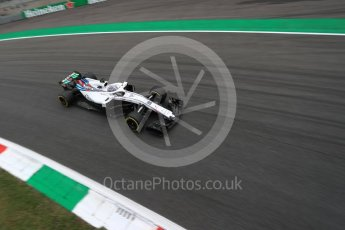 World © Octane Photographic Ltd. Formula 1 – Italian GP - Practice 2. Williams Martini Racing FW41 – Lance Stroll. Autodromo Nazionale di Monza, Monza, Italy. Friday 31st August 2018.