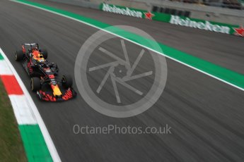 World © Octane Photographic Ltd. Formula 1 – Italian GP - Practice 2. Aston Martin Red Bull Racing TAG Heuer RB14 – Daniel Ricciardo. Autodromo Nazionale di Monza, Monza, Italy. Friday 31st August 2018.