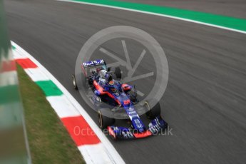 World © Octane Photographic Ltd. Formula 1 – Italian GP - Practice 2. Scuderia Toro Rosso STR13 – Brendon Hartley. Autodromo Nazionale di Monza, Monza, Italy. Friday 31st August 2018.