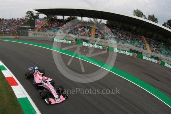 World © Octane Photographic Ltd. Formula 1 – Italian GP - Practice 2. Racing Point Force India VJM11 - Esteban Ocon. Autodromo Nazionale di Monza, Monza, Italy. Friday 31st August 2018.