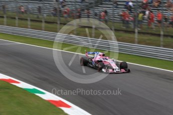 World © Octane Photographic Ltd. Formula 1 – Italian GP - Practice 2. Racing Point Force India VJM11 - Sergio Perez. Autodromo Nazionale di Monza, Monza, Italy. Friday 31st August 2018.