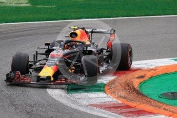 World © Octane Photographic Ltd. Formula 1 – Italian GP - Race. Aston Martin Red Bull Racing TAG Heuer RB14 – Max Verstappen. Autodromo Nazionale di Monza, Monza, Italy. Sunday 2nd September 2018.