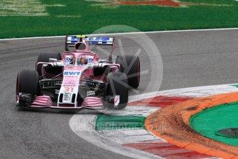 World © Octane Photographic Ltd. Formula 1 – Italian GP - Race. Racing Point Force India VJM11 - Esteban Ocon. Autodromo Nazionale di Monza, Monza, Italy. Sunday 2nd September 2018.