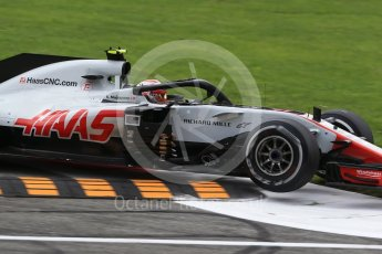 World © Octane Photographic Ltd. Formula 1 – Italian GP - Race. Haas F1 Team VF-18 – Kevin Magnussen. Autodromo Nazionale di Monza, Monza, Italy. Sunday 2nd September 2018.