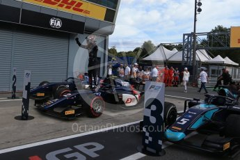 World © Octane Photographic Ltd. FIA Formula 2 (F2) – Italian GP - Race 1. Russian Time - Tadasuke Makin. Autodromo Nazionale di Monza, Monza, Italy. Saturday 1st September 2018