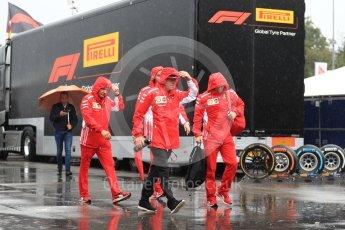 World © Octane Photographic Ltd. Formula 1 – Italian GP - Paddock. Scuderia Ferrari SF71-H – Kimi Raikkonen. Autodromo Nazionale di Monza, Monza, Italy. Friday 31st August 2018.