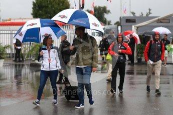 World © Octane Photographic Ltd. Formula 1 - Italian GP - Paddock. Claire Williams - Deputy Team Principal of Williams Martini Racing. Autodromo Nazionale di Monza, Monza, Italy. Friday 31st August 2018.