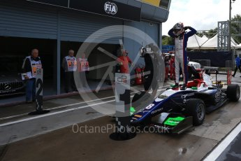 World © Octane Photographic Ltd. GP3 – Italian GP - Race 1. Trident - David Beckmann. Autodromo Nazionale di Monza, Monza, Italy. Saturday 1st September 2018.