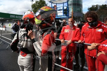 World © Octane Photographic Ltd. GP3 – Italian GP - Race 1. Trident - David Beckmann and ART Grand Prix - Callum Ilott. Autodromo Nazionale di Monza, Monza, Italy. Saturday 1st September 2018.