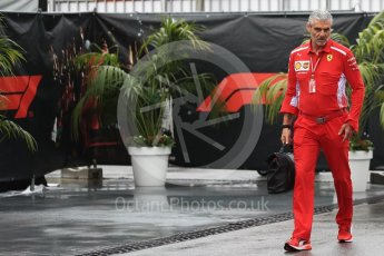 World © Octane Photographic Ltd. Formula 1 - Italian GP - Paddock. Maurizio Arrivabene – Managing Director and Team Principal of Scuderia Ferrari. Autodromo Nazionale di Monza, Monza, Italy. Saturday 1st September 2018.