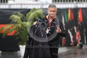 World © Octane Photographic Ltd. Formula 1 - Italian GP - Paddock. Gil De Ferran - Sporting Director of McLaren. Autodromo Nazionale di Monza, Monza, Italy. Saturday 1st September 2018.