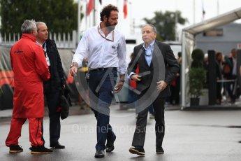World © Octane Photographic Ltd. Formula 1 - Italian GP - Paddock. Jean Todt – President of FIA. Autodromo Nazionale di Monza, Monza, Italy. Saturday 1st September 2018.