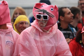 World © Octane Photographic Ltd. Formula 1 – Italian GP - Paddock. Pink Panthers. Autodromo Nazionale di Monza, Monza, Italy. Saturday 1st September 2018.